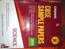 Crown cbse sample papers class X