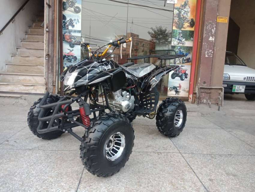 Luxury 250cc Manual Gears Atv Quad 4 Wheels Deliver In All Pakistan 0