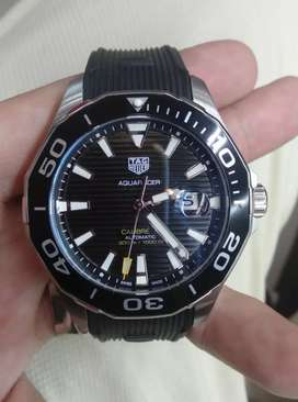 Tag Heuer BlackMatic Rubber