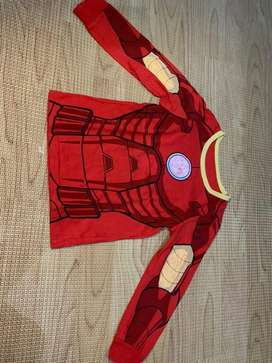 preloved piyama iron man Mothercare