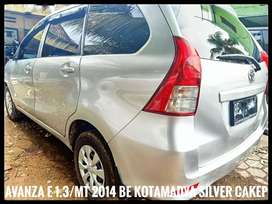 Toyota Avanza 1.3/MT e 2014 BE Kotamadya Silver Xenia Cakep Pajk Pnjng