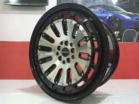 Pelek Mobil murah HSR MYTH07 Ring 18x8 Baut 5x114,3 ET 42 Xpander Rush