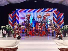 Baloon decoration , Magic show , Jumping castle , Birthday party