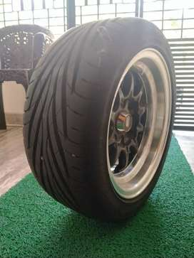 13 inch tyre &alloy