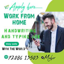 HANDWRITING AND OFFLINE TYPING JOB (WORK FROM HOME) Typing job (E book
