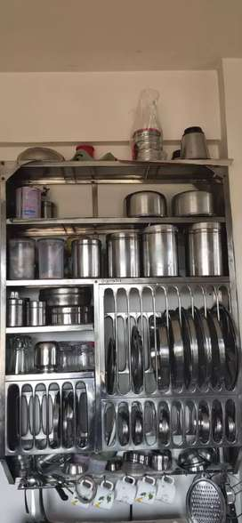 Stainless Steel Racks In Very Good Condition