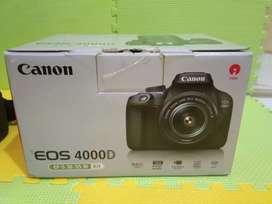 Jual Kamera DSLR canon Eos 4000D siap pakai