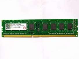 Transcend DDR3 1333Mhz 4GB Single channel Ram module