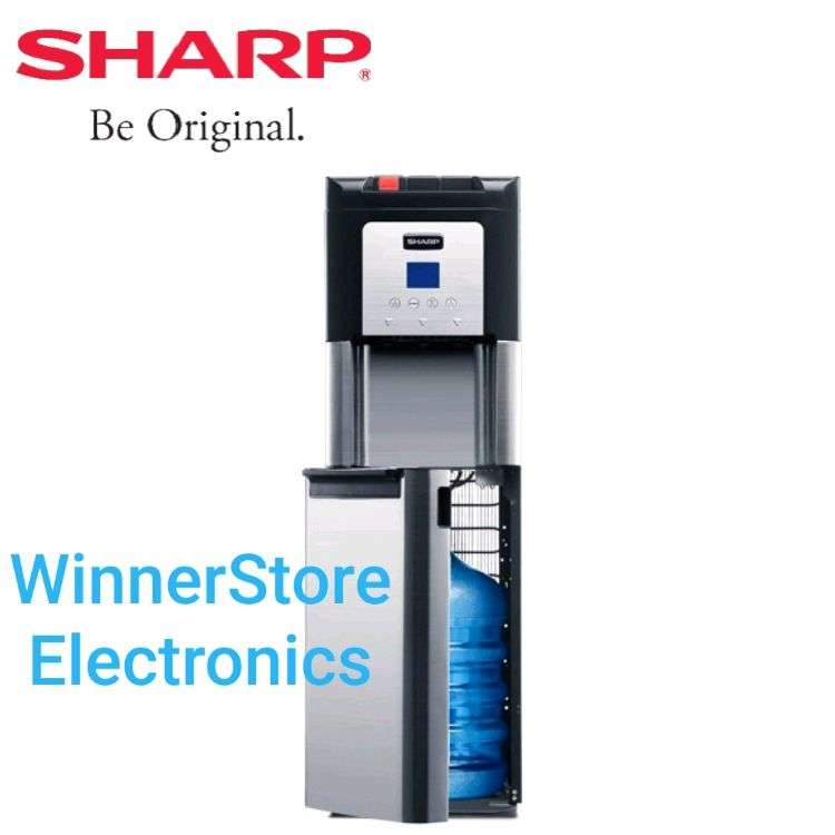 New Dispenser SHARP 3kran (Panas,Normal&Dingin) *Galon Bawah* 0