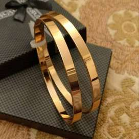 Summer Collection Gold Platted Bangles