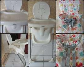 Cocolatte baby high chair/kursi makan anak bayi
