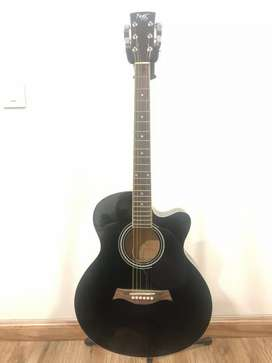 Acoustic Guitar with inbuilt tuner. Mint condition. Barely used.
