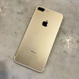 iPhone 7+ Gold mulus 128gb