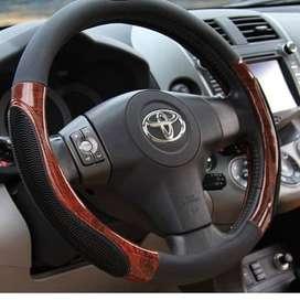 sarung Setir Mobil motif kayu Sarung Kulit Stir Mobil Cover