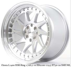 VELG  MOBIL OZORA L1400 HSR R17X85/10 H8X100-114,3 ET30/20 SMF/ML