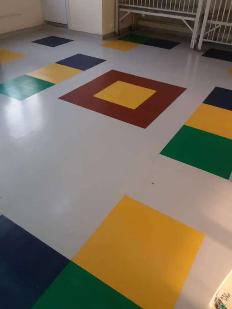 Pvc PlASTIC Vinyl tiles Flooring' and color design ViNyL floor.