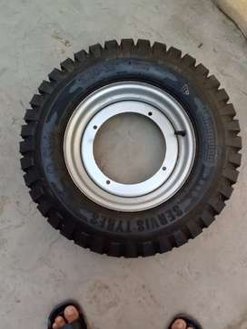 Unused Rickshaw Loader tyre
