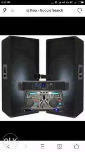 My full DJ setup Kisi Ko lena Ho To Sampark Karen