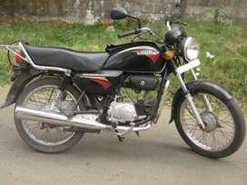 Hero honda motorcycle