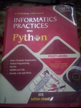 Preeti Aroura IP(Information Practices) 2019 for Class 11