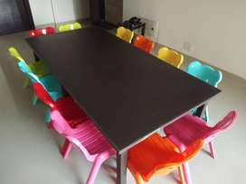 Play school Kids new wooden Table Brown colored and (4x6 feet) in size