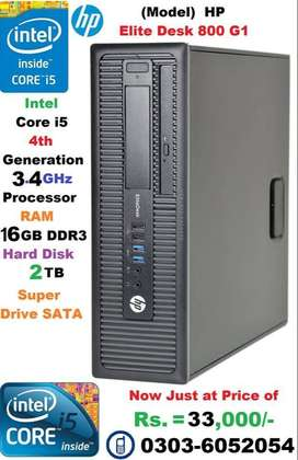 HP Elite Book Intel Core i 5 (4th) Generation Computer System