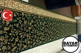Karpet masjid sajadah Turki  tipe klasik pasang Bantul