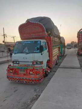 All Pakistan Goods Transport service Mazda Contenior Trucks Available