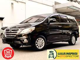 [Lulus Inspeksi] [DP38jt]Toyota Kijang Innova 2.0 V AT 2014 Hitam