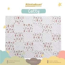 Selimut Kintakun - Bubble Blanket Catty PUTIH 76 cm x 102 cm