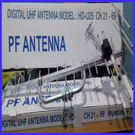 Antena TV HD 25 dgtal plus pemasangan.