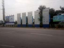 Shyameerpet-murarpelly, Genone valley Road open plot for sale