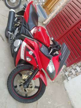 Yamaha R15 v1 (red colour)and model 2011 december