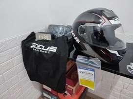 Zeus ZS 811 Black Glosy Size L