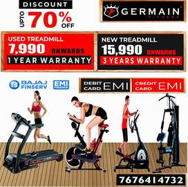 USED MOTORISED TREADMILLs 7,990 onward 1 YEAR WARRANTY 20 Models Healt