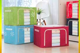 Storage Box for Clothes - Woolens With Steel Frames