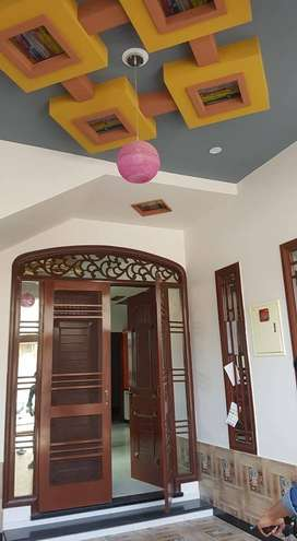 240 Sq Yd Lik New 3 Bed Bungalow For Rent Maymar Drawing Dining DD D/D