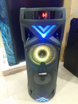 Altech lancing DJ SPEAKER RGB REMOTE WITH MIC WITH BATTERY BACKUP 1y