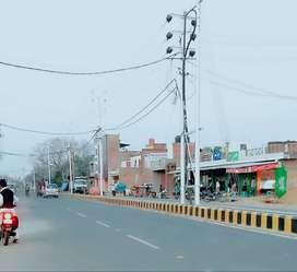 Kalindipuram Jagriti Chaurhe se 2km ki duri pe kre free hold plot book
