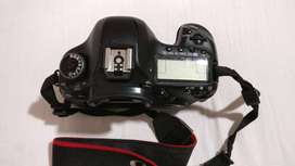 Canon 5D Mark III with battery.