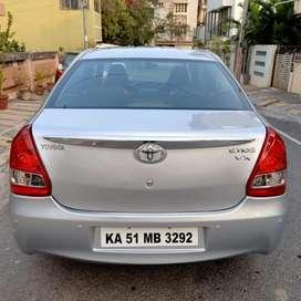 Toyota Etios 1.5 VX, 2011, Petrol