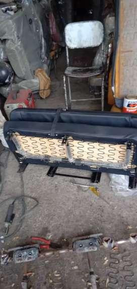 CHINTU CAR SEAT. MAHINDRA XUV HEADREST & SEAT BELT.  thar spair part
