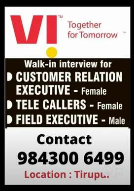 Wanted Female Telecallers and Customer Service Executive