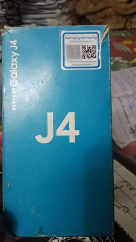 Samsung Galaxy J4 with box good condition approved