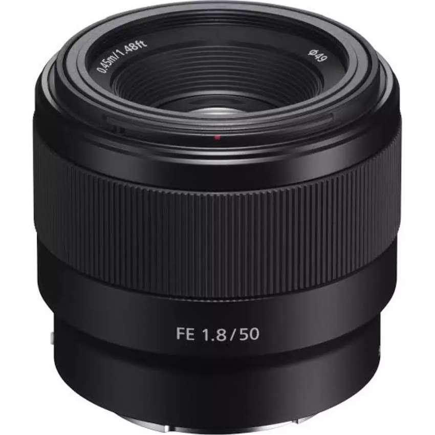 Lensa sony fe 50mm f1.8 Garansi resmi cash dan kredit 0