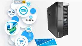 computer, Workstation DELL T5600 / HP z620 server with 1 year warranty