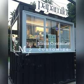 JUAL CONTAINER *BOOTH  CONTAINER UNTUK BUKA USAHA KEDAI/CAFE, DLL |11