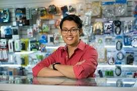 Counter Sales Showroom Staffing urgent