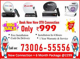 New Offer On Tata sky HD Box 1 Yr Free Warranty Tatasky, Airtel, Dish!