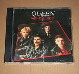 Jual / Sale CD Audio Original Import Queen (Greatest Hits)
